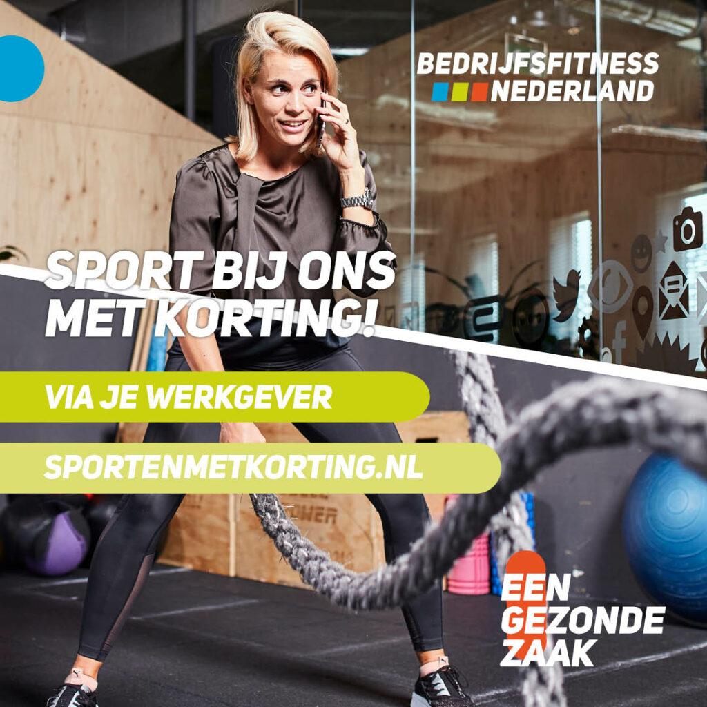 Bedrijfsfitness in Breda